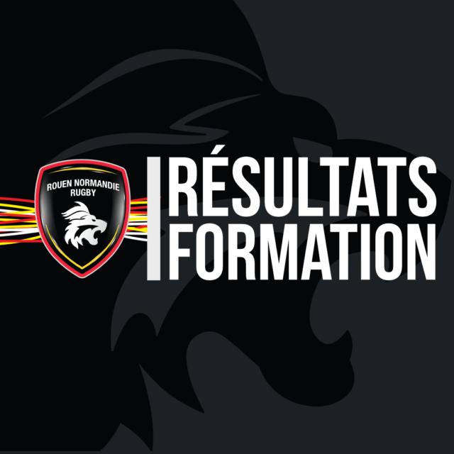 Résultats Formation – Samedi 6 Avril