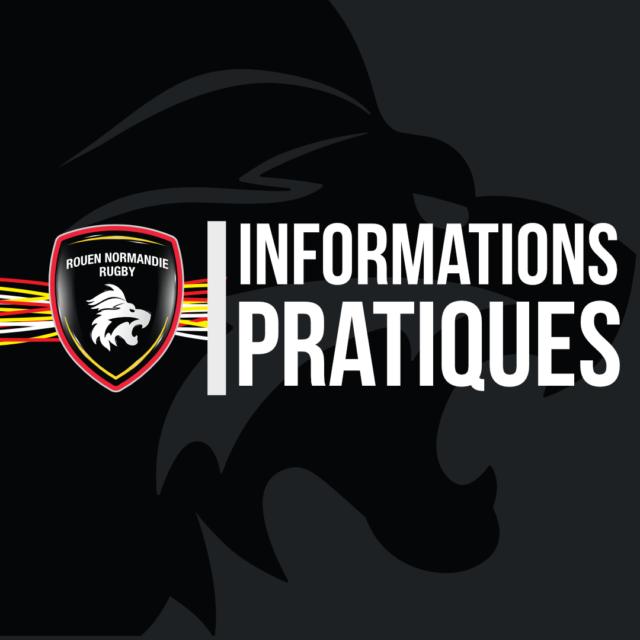 Informations pratiques – 1/4 Finale Retour – Stade Robert Diochon