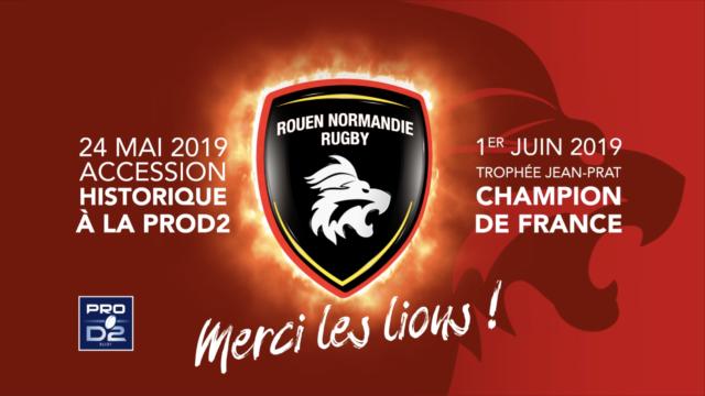 Teaser Rouen Normandie les Playoffs le film